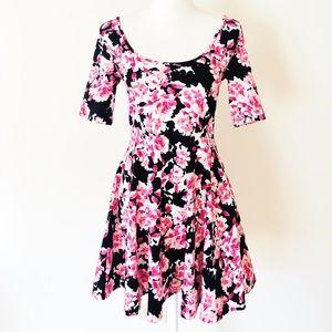 Bethany Mota floral dress